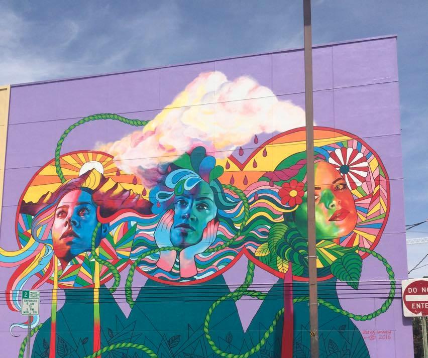 Down Town Mural